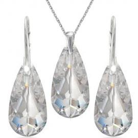 Elegantný set slzy Crystal