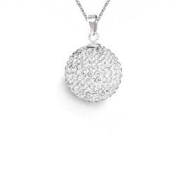 Prívesok Swarovski Discoball 16 mm – Crystal