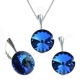 Set Swarovski elements Rivoli 12 mm modrý BERMUDE BLUE