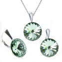 Set Rivoli 12 mm CHRYSOLITE