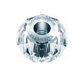 Korálka SWAROVSKI BECHARMED - BRIOLETTE číra Crystal 14mm
