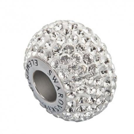 Korálka SWAROVSKI BECHARMED - Pavé číra Crystal 14mm