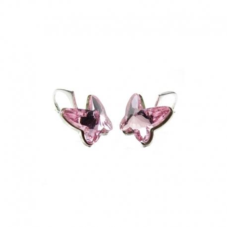 Set motýliky 12 mm – farba LIGHT ROSE