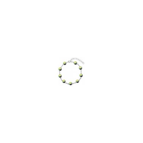 Náramok Swarovski 10mm rivoli – Crystal VM