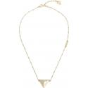 Náhrdelník Guess UBN70057 trojuholník