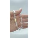 Kryštáľový náramok Swarovski korálky – Crystal AB kocka