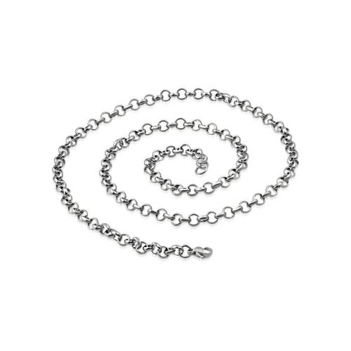 Dámska oceľová retiazka Rolo 45cm