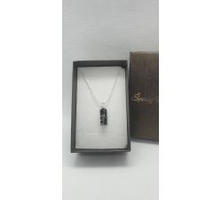 Náhrdelník Swarovski elements srdce Devoted dúhové - Crystal AB 27mm