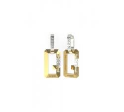 Náušnice Guess UBE70082 zlaté
