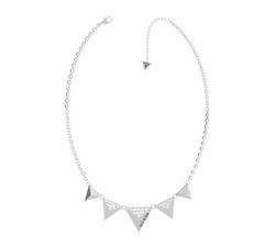 Náhrdelník Guess UBN70059 s trojuholníkmi