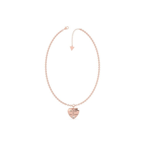 Náhrdelník Guess UBN70027 guess is for lovers srdce