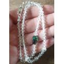 Krásny číry náramok Swarovski elements Xilion crystal