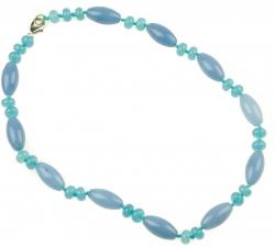 BN021 - náhrdelník akvamarín