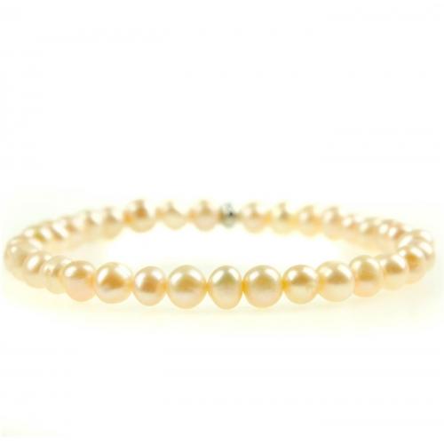 PB009 - náramok riečne perly