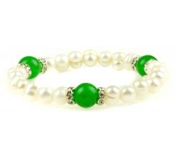 PB016 - náramok riečne perly