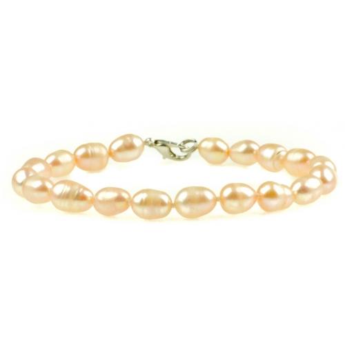 PB023 - náramok riečne perly