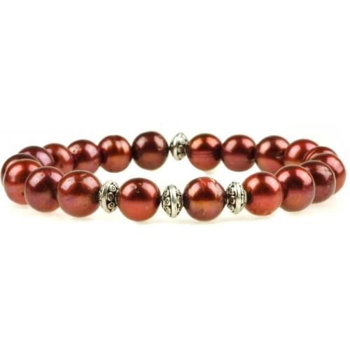 PB029 - náramok riečne perly
