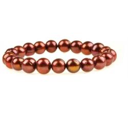 PB029b - náramok riečne perly
