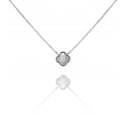Strieborný náhrdelník s perleťovou ozdobou SN063, AG 925/1000