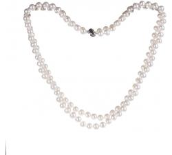 SPS002 - náhrdelník riečne perly AG 925/1000