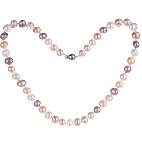 SPS004 - náhrdelník riečne perly AG 925/1000
