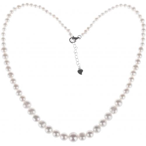 SPS006 - náhrdelník riečne perly AG 925/1000