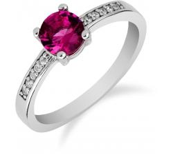 SS82R - prsteň AG 925/1000 - ružová