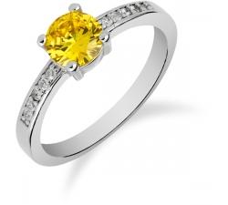 SS82R - prsteň AG 925/1000 - žltá
