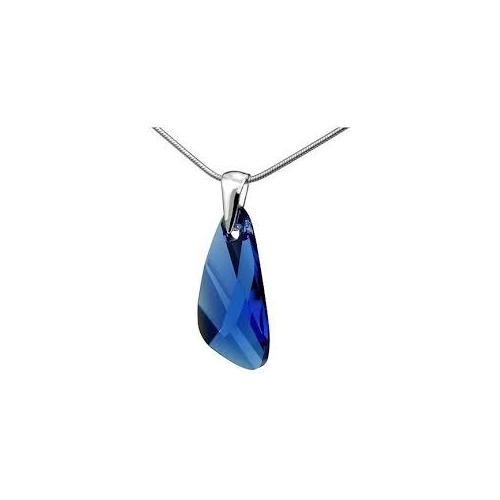 Prívesok Swarovski elements krídla modrý